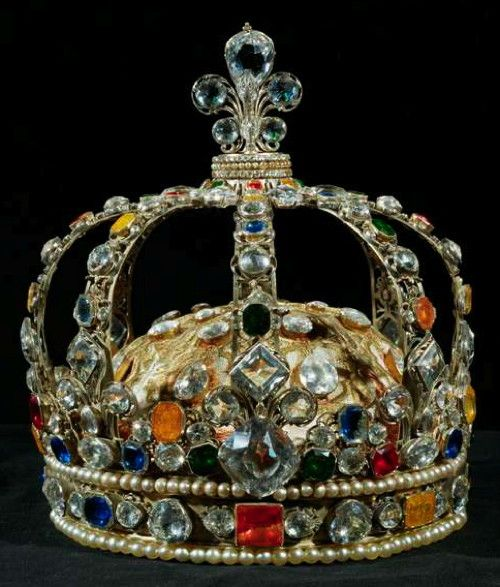 Crown of French King Louis XV