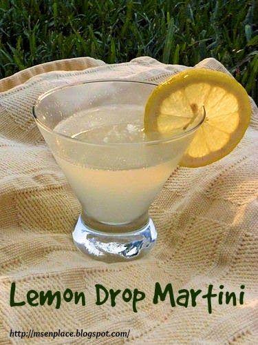 Lemon Drop Martini | Ms. enPlace | It's 5:00 somewhere... | Pinterest
