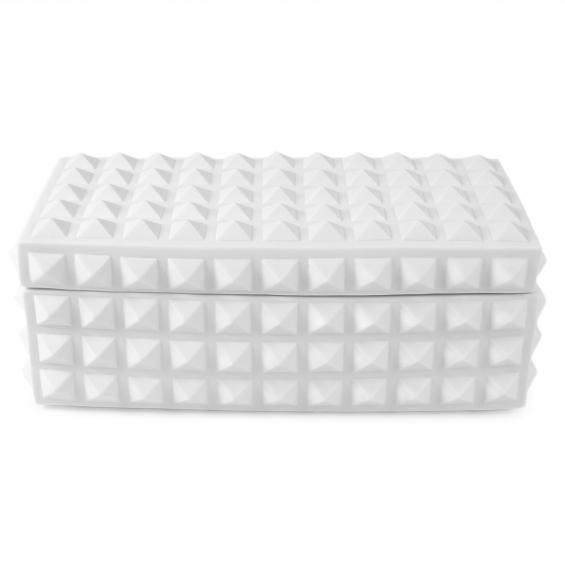 Charade Square Studded Box by Jonathan Adler