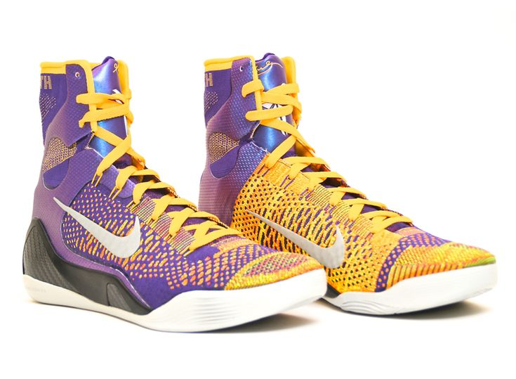 Kobe 9 high top purple