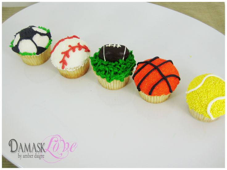 Sports Cupcake Ideas 65