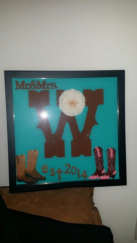 Wedding Gift Shadow Box : Diy wedding gift. Shadow box Wedding Gifts Pinterest