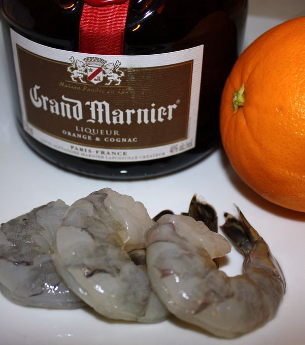 Barking Frog Grand Marnier Prawns - Olympia Seafood