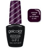 OPI Gelcolor Collection Nail Gel Lacquer, Lincoln Park After Dark, 0.5