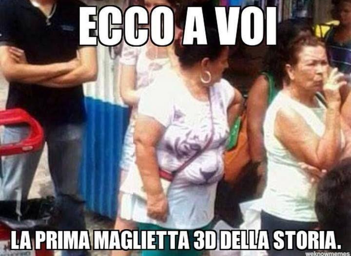 3D shirt | Italianissimo | Pinterest