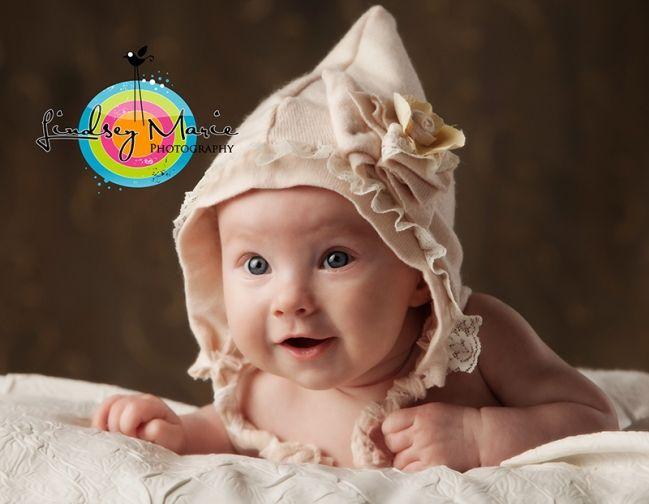 Pretty pixie baby bonnet diy photo prop tutorial 187 ree ree s place