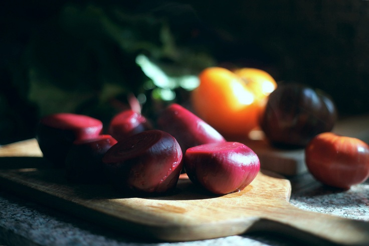 Tomato - Beet Salad | Recipes to try | Pinterest