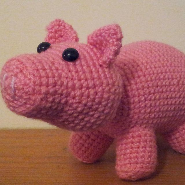 Amigurumi Free Pattern Pig : Pig (Hamm from Toy Story) pattern by Good Day Crochet