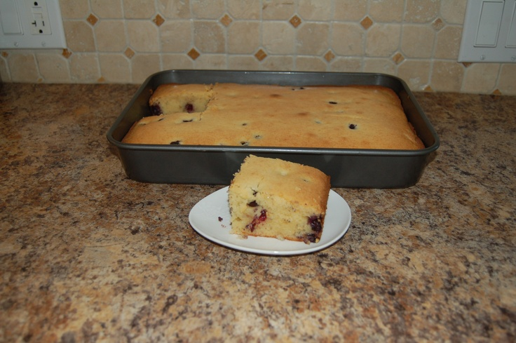 Blueberry Mochi cake from closetcooking.com. Kevin has amazing recipes ...