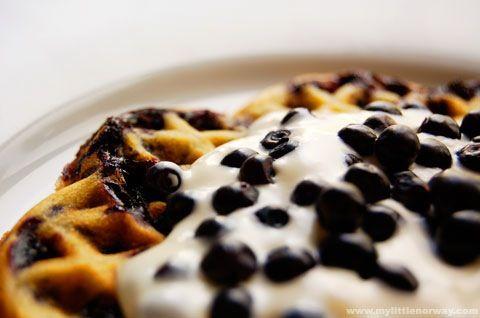 Norwegian Waffles | Breakfast | Pinterest