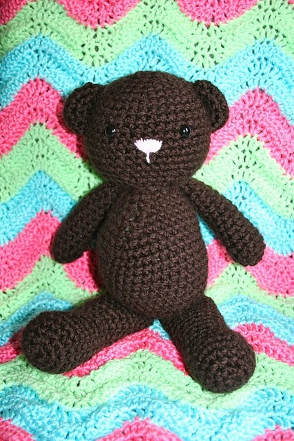 Free Teddy Bear Crochet Afghan Pattern : Pin by Etti Zur on Crochet Pinterest