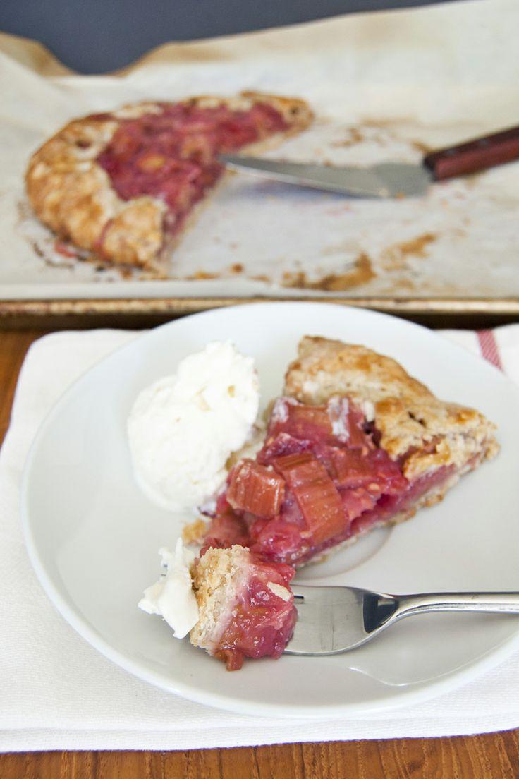 ... rhubarb and raspberry crostata recept yummly rhubarb and raspberry