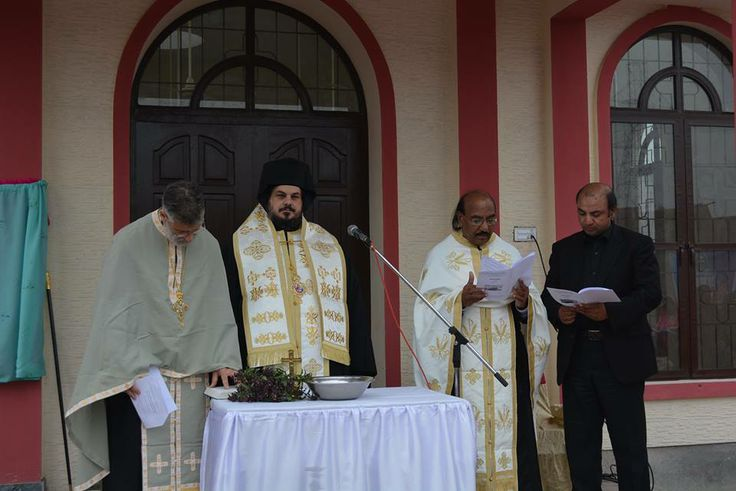 First orthodox church in pakistan consecrated in lahore pakistan fr