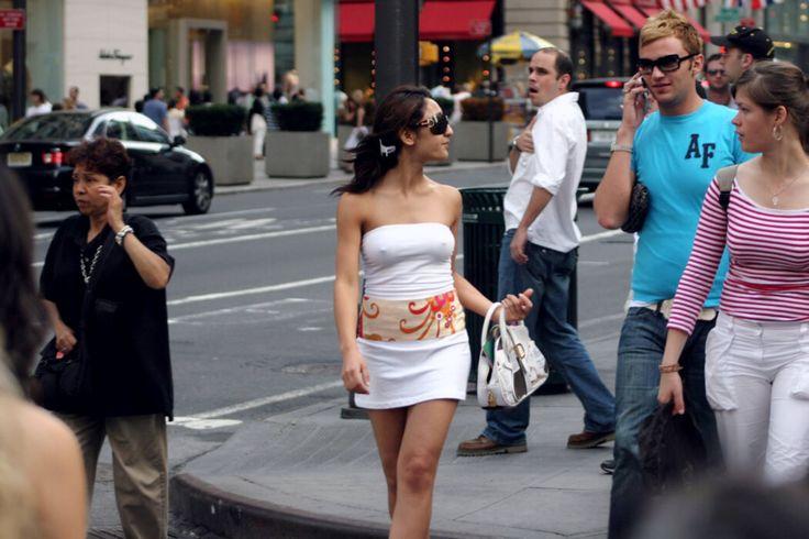 Candid Street Nipples 7
