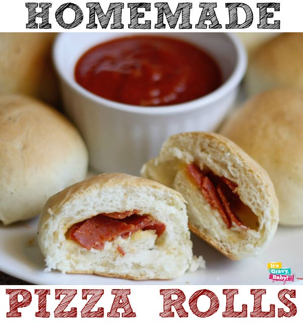 Homemade Pizza Roll Recipe | Appetizer Recipes | Pinterest