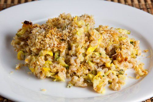 Zucchini and Farro Gratin | Recipe