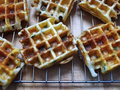 Gluten-Free, Dairy-Free Jalapeño Popper Waffles Paul would love this ...