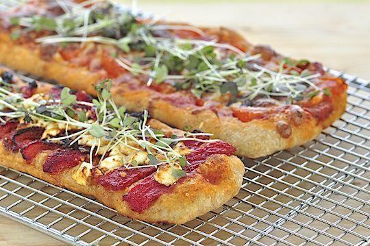 ... mozzarella and tomato bread peach tomato and mozzarella crostini