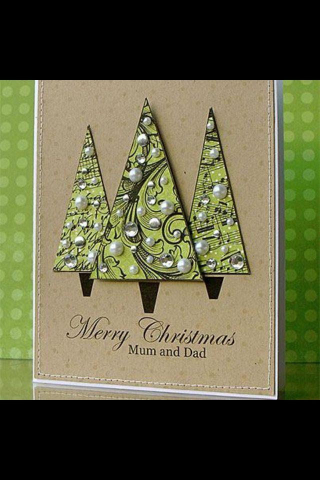 Tree card | Card Ideas | Pinterest: pinterest.com/pin/311311392963586761