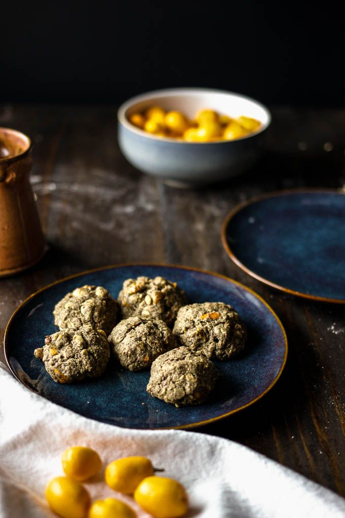 Healthy and nutritious kumquat buckwheat breakfast cookies. #glutenfree #vegan | saltedplains.com