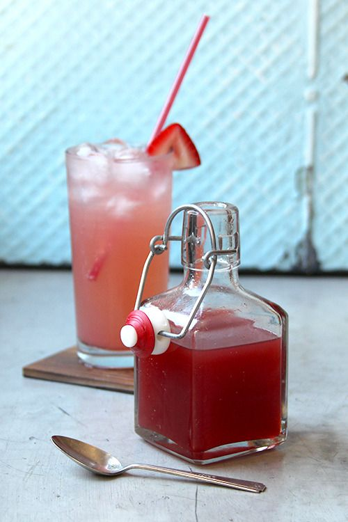 Chile-Spiced Strawberry Syrup by Saveur. The addition of Sichuan ...