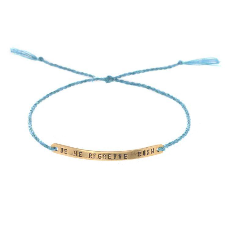 Regret Nothing Bracelet found on Zady -