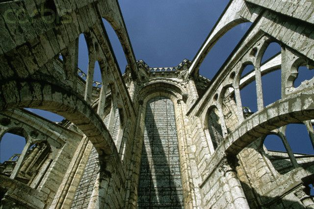 Flying Buttresses On Chartres Cathedral Flying Buttress Pinterest
