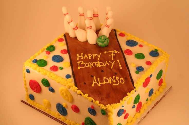 Cake Decor Alley : Bowling Alley Birthday Cake Well Decorated Pinterest
