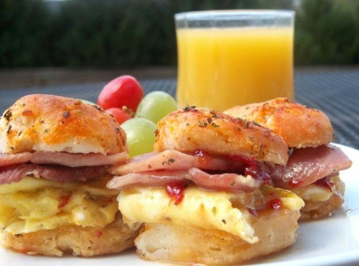 ... Country Ham Biscuits ----Hands down; Best Breakfast/Brunch Biscuit I