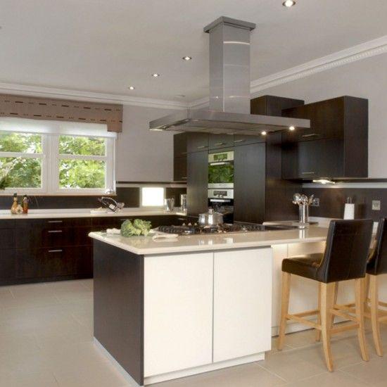 Cream and cocoa kitchen  http  pinhome net kitchen design cream and