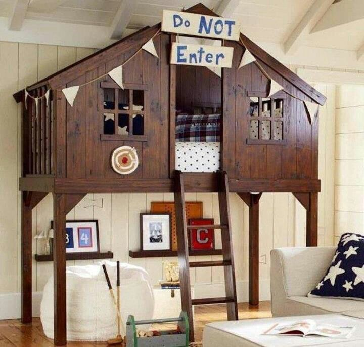 Best Awesome Kids Hide Out Bunk Bed Hideaway Spaces Pinterest 640 x 480
