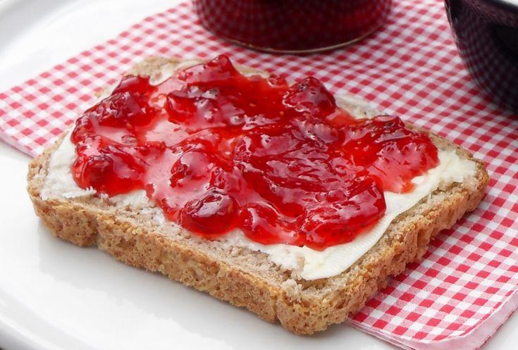 Strawberry, Raspberry & Redcurrant Jam | Strawberries in season | Pin ...