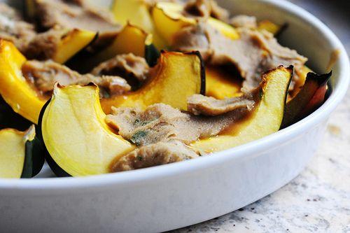 Sweet-Roasted Rosemary Acorn Squash Wedges   Recipe