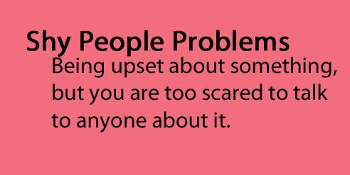 Shy People Problems Quotes. QuotesGram