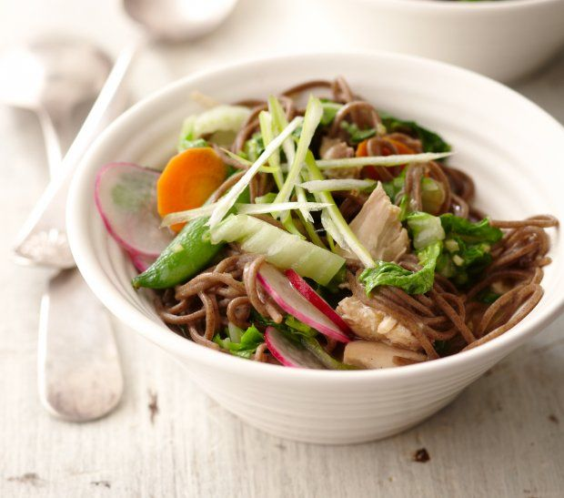 Soba Noodle Salad with Spring Vegetables | Heathier/Low calorie eatin ...