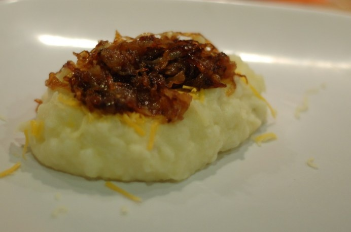 Skinny Caramelized Onion Mashed Potatoes | Veggies/Sides | Pinterest