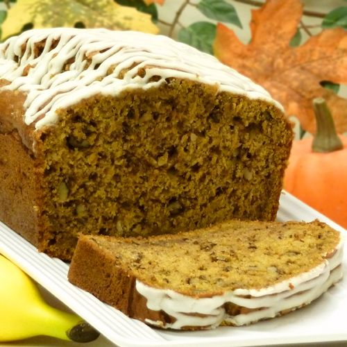 Pumpkin Banana Bread Recipe. Going to try this one out soon!