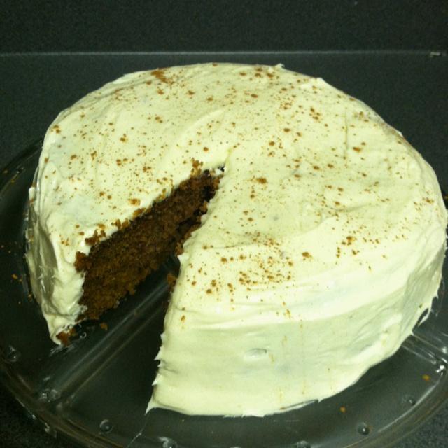Sweet potato cake with cream cheese icing http://kitchenconfidante.com ...