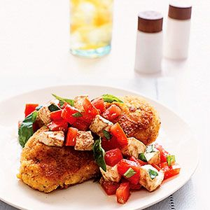 Caprese is a salad that includes the wonderful combination of fresh ...