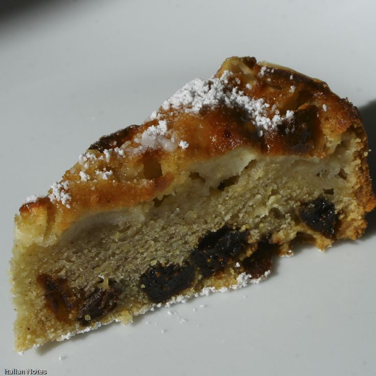 Bustrengo Polenta and apple cake | The World's Great Foods (IMHO) : a ...