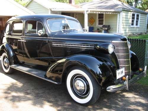 1938 chevy master deluxe 4 door sedan