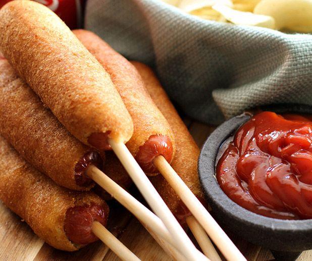 Homemade Corn Dogs | Manly Stuff | Pinterest