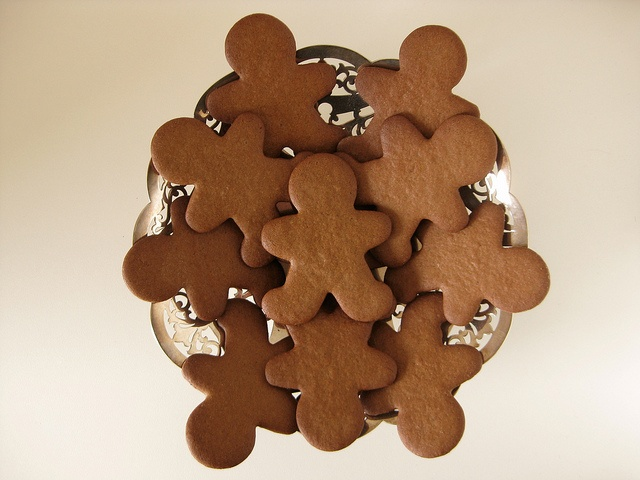 spicy gingerbread cookies | spicy, crispy, gluten-free gingerbread ...
