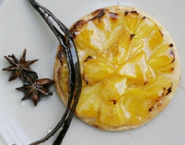 Pineapple tart and star anise glaze | food! | Pinterest
