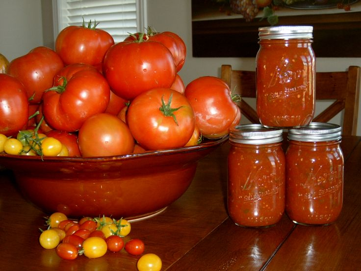 Canned Tomato Sauce and Salsa. | prepare | Pinterest