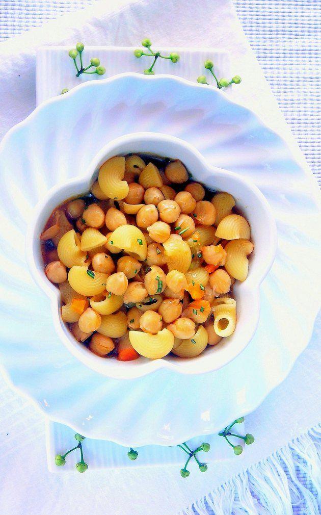 Pressure Cooker Minestrone Soup (Pasta e Ceci) | Recipe