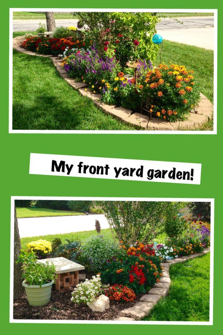 Midwest flower garden garden pinterest for Best flowers for backyard gardens