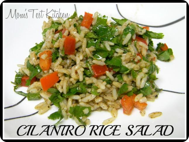 Mom's Test Kitchen: Cilantro Rice Salad