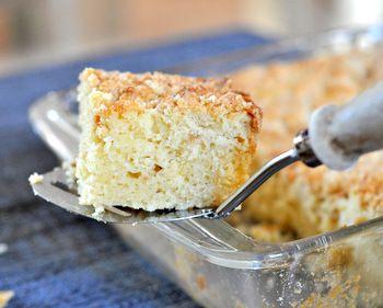 Meyer Lemon Coffee Cake | Creative Cakes | Pinterest