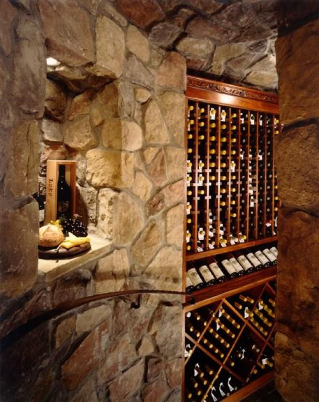 Pin by lepagejohnson realtygroup on wine cellars pinterest for Garage wine cellar